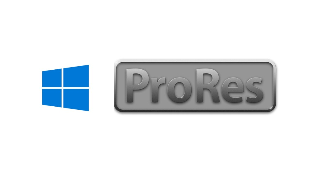 Windows und Apple ProRes